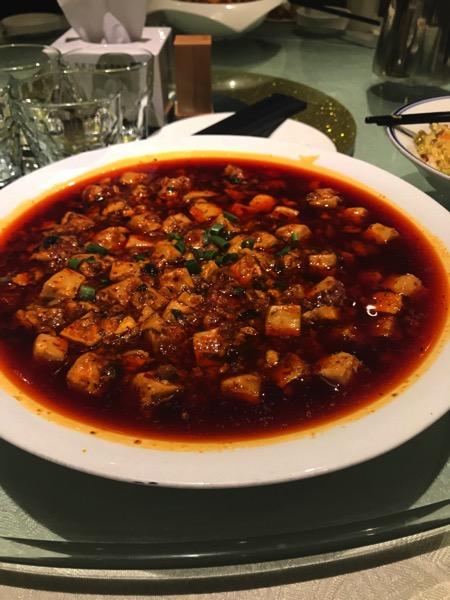 北京で麻婆豆腐